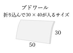 ブドワール 封筒型 50×30