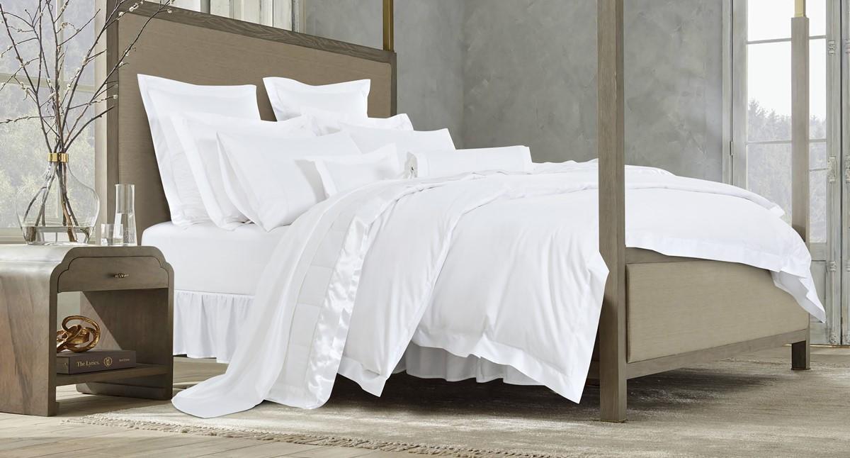 ホテルライクなベッドコーディネート