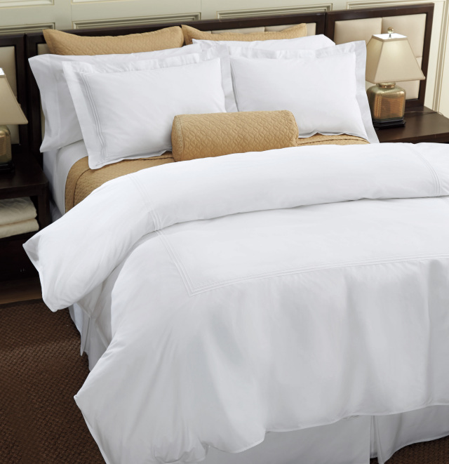ホテルライクなベッドメイキング